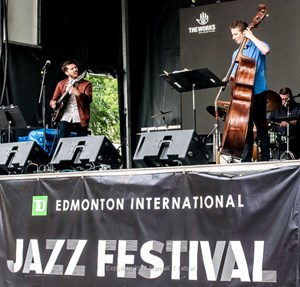 Edmonton International Jazz Festival 2017 – Brett Hansen Trio