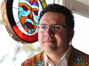 Edmonton's Richard Van Camp scores another literary win with Moccasin Square Gardens