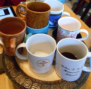 A Table, A Room, A Coffee, A Cat: How the Writing Half Lives