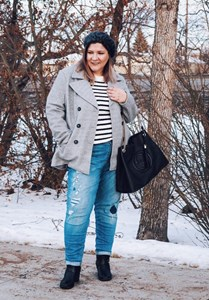 Touch Of France: Peacoat, Stripes and Beret