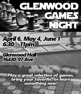 Games Nights – April to June