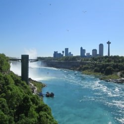 Photo Friday – View of Niagara Falls from The Rainbow Bridge