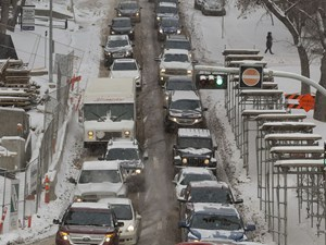 Edmonton weather: Snowstorm on the way