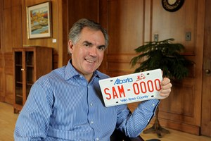 Prentice Government cancels licence plate redesign