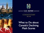 It's time for the fad discovery math fixation to end, says C.D. Howe Institute study