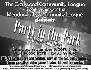 Party in the Park – September 9th, 2017