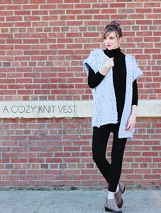 A Cozy Knit Vest