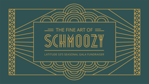 The Fine Art of Schmoozy returns November 25! This is our...