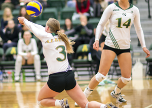 Volley Pandas upset by Bobcats in five