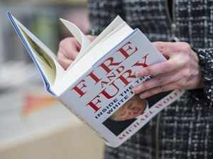 Fire and Fury book on Donald Trump a hot commodity at public libraries