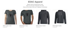 EDAC Apparel for Sale!