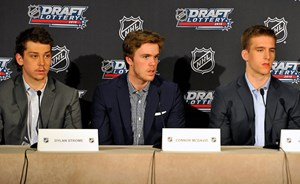 McDavid, top players react to Draft Lottery results