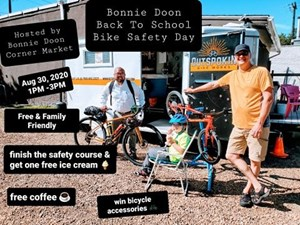 Back To School Bicycle Safety Day - Aug 30, 2020