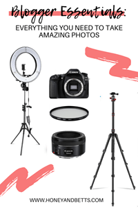 Blogger Essentials: Everything You Need To Take Amazing Photos