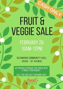 Food4Good Fruit & Veggie Sale – February 26