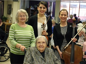 Concerts in Care offering seniors a taste of music