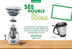 Thermomix Client Incentive November 2018: Earn a Free Machine