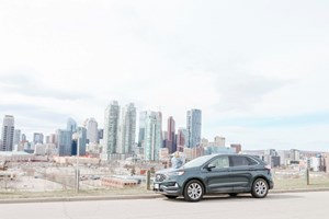 Calgary Road Trip | Testing Out The Ford Edge ST 2019