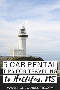 5 Car Rental Tips For Traveling To Halifax