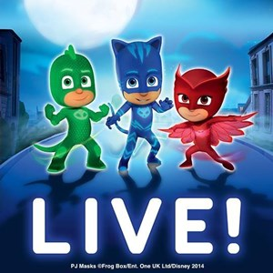 PJ Masks Live: Time to be a Hero!