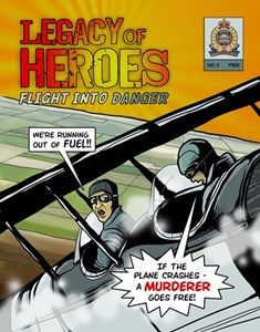 Second issue of Legacy of Heroes takes flight