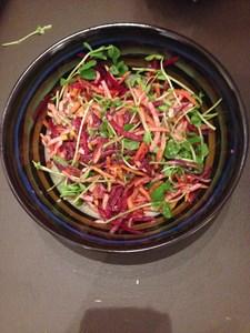 Jamie Oliver's Rainbow Salad with Tarragon Dressing