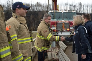 Fort McMurray first responders to be honoured with overpass