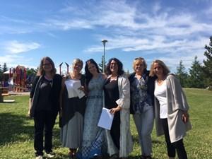 Sidewalk poetry inspires language and community
