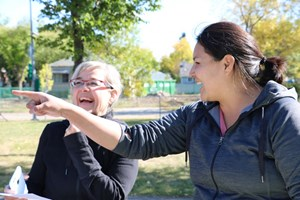 Edmonton Native Healing Center connects with Prince Charles Neighbourhood for Community League Day