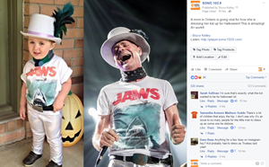 Boy Who Dressed as Gord Downie for Halloween Given Kudos By The Tragically Hip