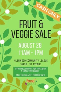 Food4Good Veggie Market – August 28