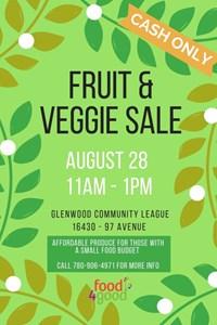 Food4Good Veggie Market – August 28