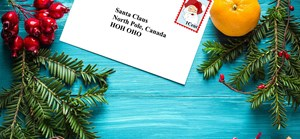 Get Your Letter on the News! Letters to Santa on Global Edmonton