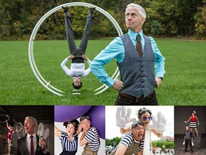 Circus, Acrobatics & Comedy with the Kamikaze FireFlies!