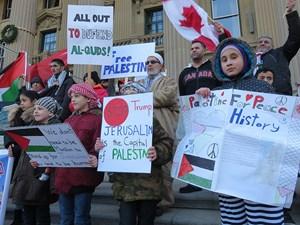 Latest Update: Hands Off Jerusalem Rally