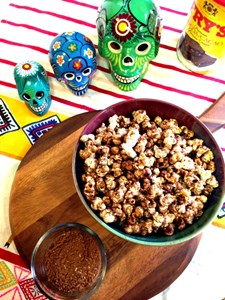 Flavour Trip: Easy, Addictive Mexican Spiced Chocolate Popcorn