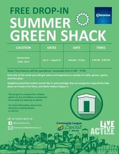 Winter Green Shack - February 1 - 28, 2020