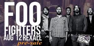 Foo Fighters Pre-Sale