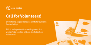 Terra Casino: Volunteers Needed