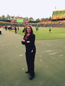 Providing championship care at the FIFA Women's World Cup