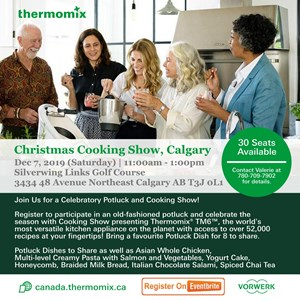 Free Calgary Thermomix Cooking Show and Potluck: Featuring the TM6!