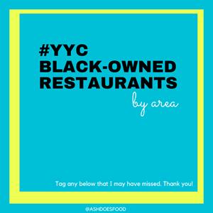 Black-Owned Restaurants in Calgary #YYC