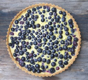 Clafoutis Patootie: A Deviant and Delicious Custard Blueberry Tart