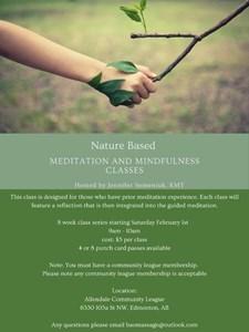 Nature-Based Meditation & Mindfulness Classes