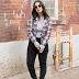 Reliving the 90s with Plaid Blazers & Backpacks