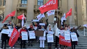 Nurses Rally for Alberta