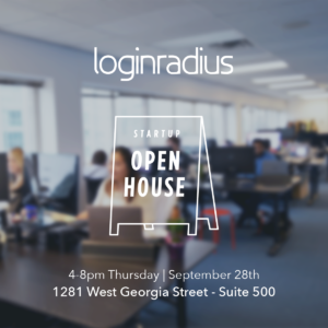 Startup Open House and You're Invited!