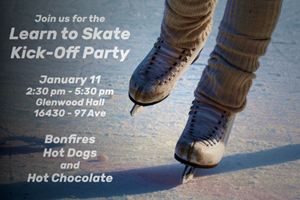 Learn to Skate Kick-Off Party – Saturday, January 11th