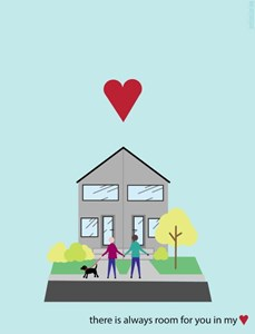 You Complete My Street: spreading the infill love with valentines
