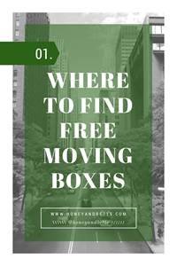 The Best Places To Get Free Boxes For Moving